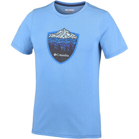 Columbia Hillvalley Forest - T-shirt manches courtes Homme - turquoise